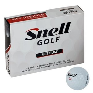 Snell Golf Get Sum Ball スネル ゴルフ ゲットサム ゴルフボール 1ダース|prolinegolf