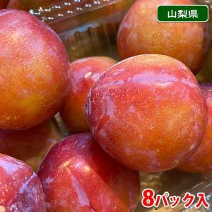 山梨県産 プラム(すもも)太陽 4kg(8パック入り)|promart-jp