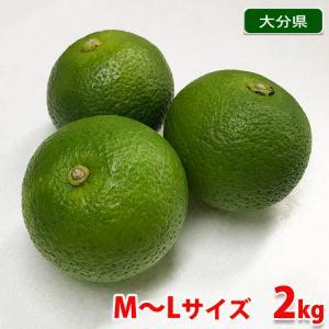 大分県産 かぼす 秀品 Lサイズ 2kg(箱)|promart-jp