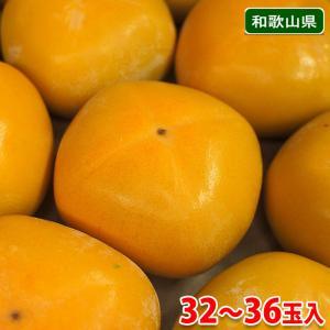 【送料無料】和歌山県産 たねなし柿 32玉〜36玉入り(約7.5kg)|promart-jp
