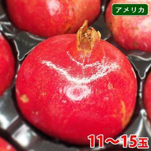 【送料無料】アメリカ産 大玉 ザクロ(ざくろ・柘榴) 11玉〜15玉入り|promart-jp