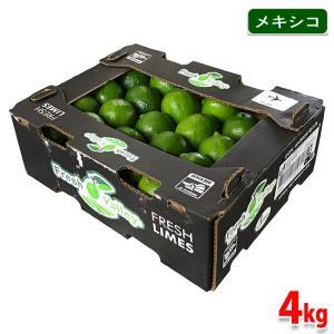 送料無料 メキシコ産 ライム LIMON PERSA(リモン・ペルサ) 4kg|promart-jp
