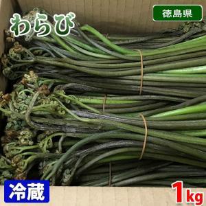 徳島県産 わらび 1kg(箱)|promart-jp