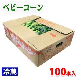 愛知県産 皮付き・ベビーコーン 100本入り(箱)|promart-jp