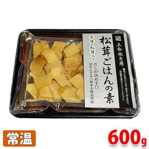久世食品 松茸ごはんの素・三合炊き用 600g(具材:100g、スープ:500g) promart-jp