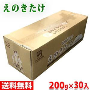 【送料無料】長野県産 えのき 200g×30パック入り箱|promart-jp