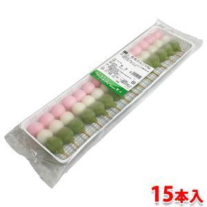 プチ三色団子 花見だんご 15本入りパック|promart-jp