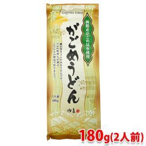 【函館産がごめ昆布使用・乾麺】がごめうどん 2人前 180g(1袋)|promart-jp