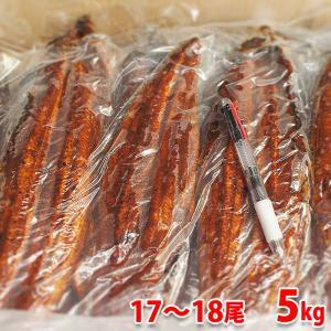 送料無料 業務用 冷凍うなぎ蒲焼き(中国産)17〜18尾入り 5kg(一尾285g)|promart-jp