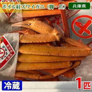 兵庫県産 ボイル紅ズワイガニ 脚・爪 1匹(袋詰め)|promart-jp