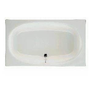 INAX グラスティN浴槽バスタブ【1100サイズ】【1方半エプロン(埋込式)】【メーカー直送品ABN-1101A】|promart