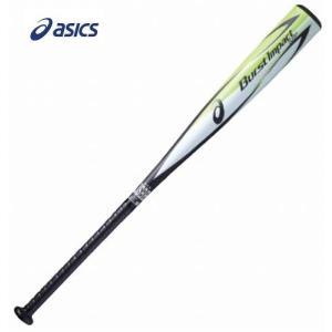 asics(アシックス) 一般軟式用金属製バット BURST IMPACT LW バーストインパクトLW ミドルバランス BB4022 1081
