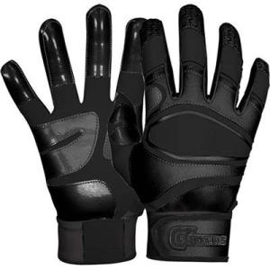 Cutters(カッターズ) パワーコントロール バッティング手袋(両手用) (BK) B440|pronakaspo