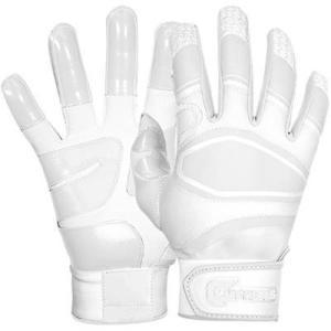 Cutters(カッターズ) パワーコントロール バッティング手袋(両手用) (WH) B440|pronakaspo
