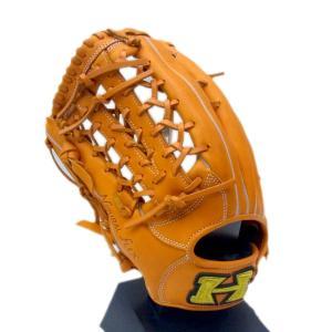 【左投げ用】HI-GOLD(ハイゴールド) 一般軟式用グラブ 己極 外野手用 右投げ用 OKG-6418 (軟式グローブ)|pronakaspo