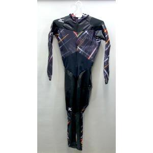mizuno(ミズノ) スピードスケートワンピース (ブラック×ブラック) AC15SK-00270 pronakaspo