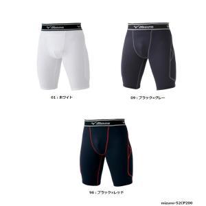 mizuno(ミズノ) スライディングパンツ(ミドルシルエット) ファウルカップ収納式 52CP200 [野球/スラパン]|pronakaspo