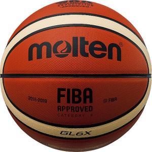 【NEW】 【6号球】 molten(モルテン)  バスケットボール[検定球6号]  BGL6X|pronakaspo