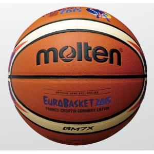 【ユーロバスケット2015 レプリカ】 【7号球】 molten(モルテン)  バスケットボール[検定球7号]  BGM7X-E5F|pronakaspo