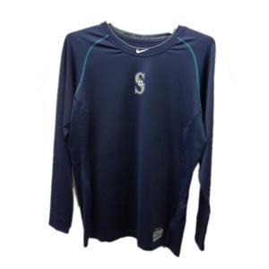 NIKE(ナイキ) MLB マリナーズ ラグラン L/S トップ (419) 549124|pronakaspo