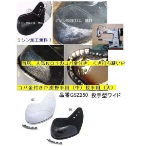 大好評!ミシン縫いコバ金付P革 (取付け加工料無料)|pronakaspo