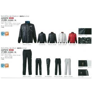 Rawlings(ローリングス) 裏起毛メッシュ ウインドブレーカージャケット&パンツ  上下セット 【AOS5F01】【AOP5F01】|pronakaspo