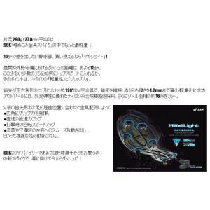 SSK(エスエスケイ) マキシライトMG10 NSL295 [野球/固定式金具/スパイク] ( SSK_NSL295)|pronakaspo|03