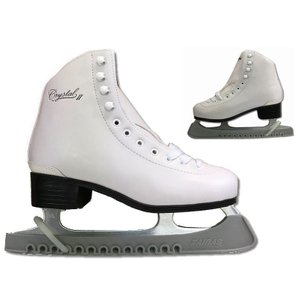 【初回研磨無料】ZAIRAS(ザイラス) フィギュアスケート靴 クリスタル2 CRYSTAL2 FI...