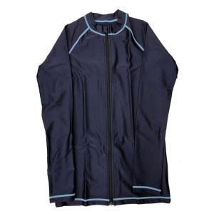 長袖スイムウェア (紫外線対策シャツ水着) 132170 08 ネイビー|pronet-sports
