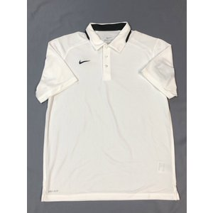 NIKE ナイキ DRY-FIT PLAYER POLO 742456 123ホワイト ポロシャツ pronet-sports