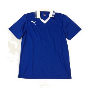 プーマ 襟付き半袖ゲームシャツ 903299 02ブルー|pronet-sports