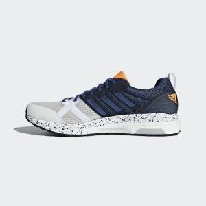 アディダス (adidas) adizero tempo boost 3 アディゼロ テンポブースト BB6434 ホワイト/インディゴ|pronet-sports