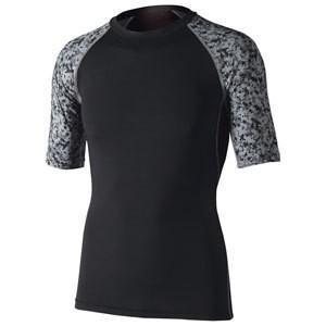 おたふく手袋 消臭 パワーストレッチ 半袖クルーネックシャツ OF-JW628 BKMS|pronet-sports