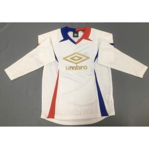 アンブロ ジュニア長袖プラシャツ UBA7343JL※150cmのみ|pronet-sports