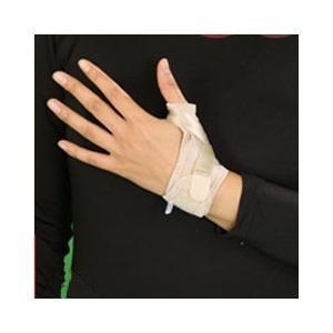 1.内臓パッドで親指の付け根の関節周囲を保護します。2.クロスベルトで、親指の関節を的確に圧迫固定。...