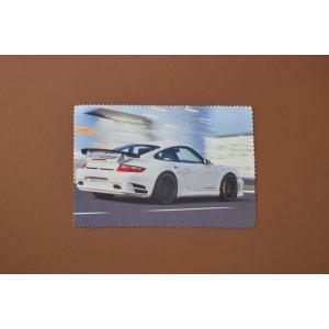 カープリンティッドレンズクリーナー ホワイト 12X18cm|proofshop