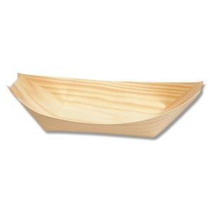 お取り寄せ 経木舟皿 舟形経木 業務用 使い捨て エゾ松舟皿 8寸 100枚|propack-kappa1