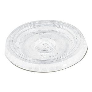 HEIKO プラスチックカップ 平型蓋 12/14/18オンス用 100枚