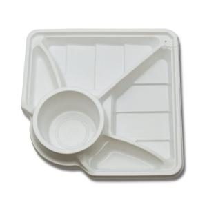 食品トレー 食品容器 使い捨て L-2990 リーフ 50枚|propack-kappa1