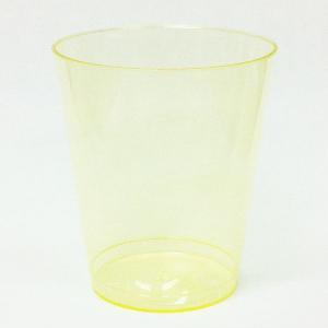 プラスチックコップ おしゃれ 使い捨て DUN-120Y パーティグラス 5個|propack-kappa1