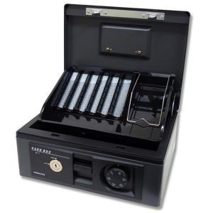 KOKUYO 手提げ金庫 キャッシュボックス A5サイズ CB-13DM ダークグレー|propack-kappa1