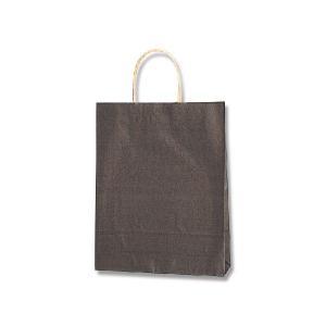 紙袋/シモジマ 手提げ紙袋 MS1 未晒 焦茶 50枚