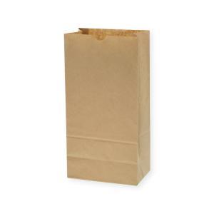 紙袋/シモジマ 角底袋 No.12 未晒無地