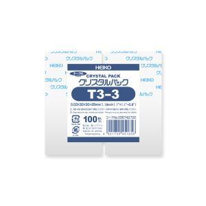ポリ袋/シモジマ クリアパック OPP袋 クリスタルパック T-3-3|propack-kappa1