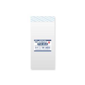 【お取り寄せ】OPP袋 テープ付 長3封筒サイズ クリスタルパック 厚口 04T12-23.5