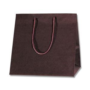 紙袋/シモジマ カラーアレンジバッグ M 焦茶 10枚