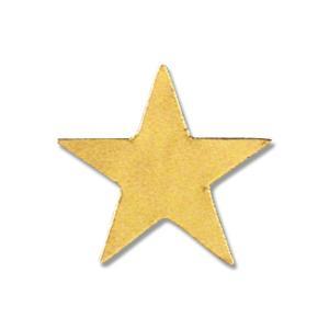 お取り寄せ HEIKO タックラベル No.330 23×25 星型金 18片