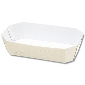 紙トレー 業務用 使い捨て 食品容器 舟形 エコパームボックス Fトレー 2|propack-kappa1