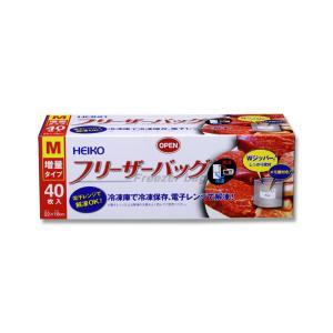 HEIKO フリーザーバッグ 業務用 M 40枚 propack-kappa1