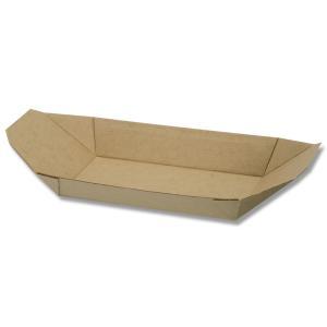 食品容器 紙トレー 業務用 HEIKO ネオクラフト トレー 舟型 50枚|propack-kappa1